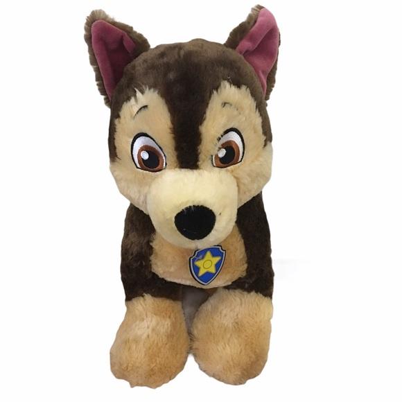 Build A Bear Nickelodeon Paw Patrol Chase Plushie